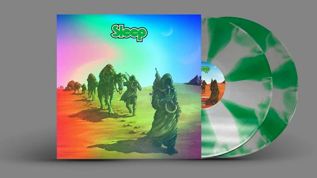 SLEEP Dopesmoker (holographic with cornetto swirl