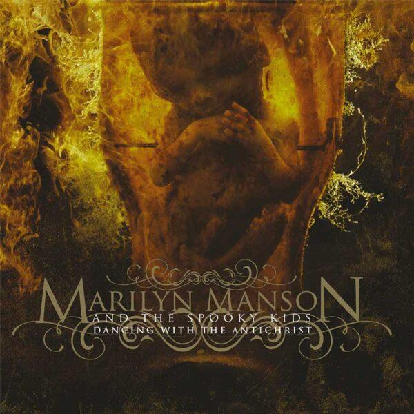 MARILYN MANSON Dancing With the Antichrist (white/black splatter)